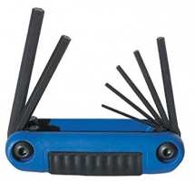 7PCE EKLIND METRIC FOLDING HEX KEY SET