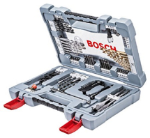 76PCE BOSCH PREMIUM MIXED DRILL BIT SET