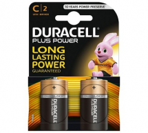LR14/C DURACELL BATTERY 2 PACK