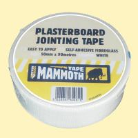 50MM X 90MTR PLASTERBOARD JOINTING TAPE - EVERBUILD