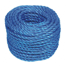 6MM X 20MTR POLYPROPYLENE ROPE ON HANDIREEL