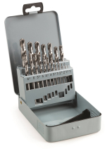 19 PCE HSS DRILL BIT SET 1MM - 10MM
