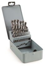 25 PCE HSS DRILL BIT SET 1MM - 13MM