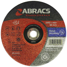 125MM X 6MM X 22MM DPC METAL GRINDING DISC