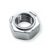 M5 HEX WELD NUT S/COLOUR 11MM A/F