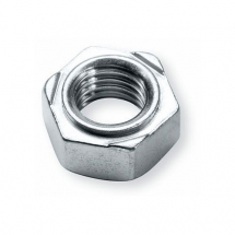 M6 HEX WELD NUT S/COLOUR