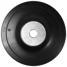 115MM RUBBER BACKING PAD M14 THREAD