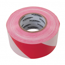 70MM X 500MTR RED/WHITE BARRIER TAPE