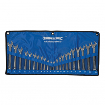 22PCE COMBINATION SPANNER SET METRIC/IMPERIAL