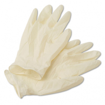 LARGE LATEX GLOVES BOX OF 100