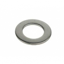 M5 X 9 X 1MM FLAT WASHER BZP DIN433/ISO7092
